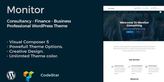 Latest Photo of  Monitor | Consulting & Business WordPress Theme