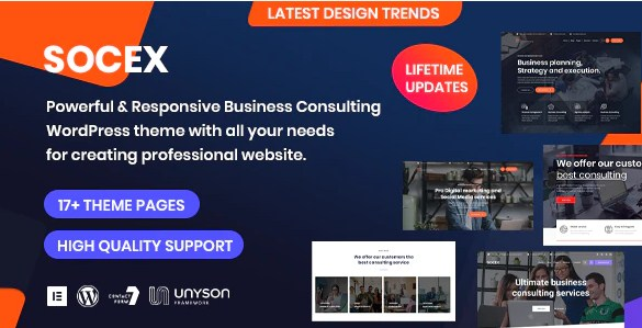 Latest Photo of  Socex Consulting & Business WordPress theme