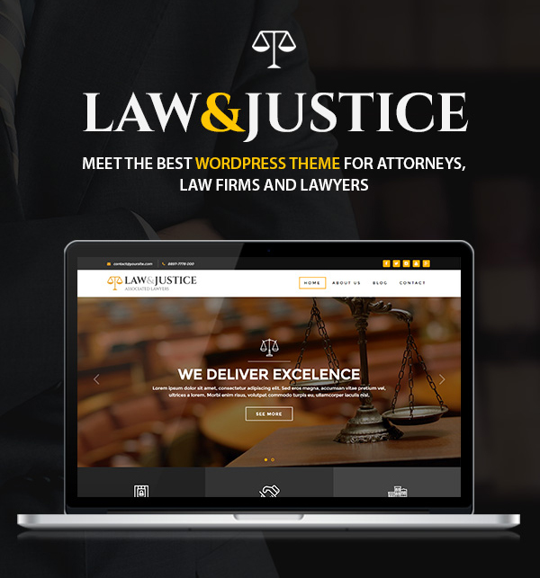 Latest Photo of  Law&Justice: Law Firm, Lawyers & Attorneys WordPress Theme