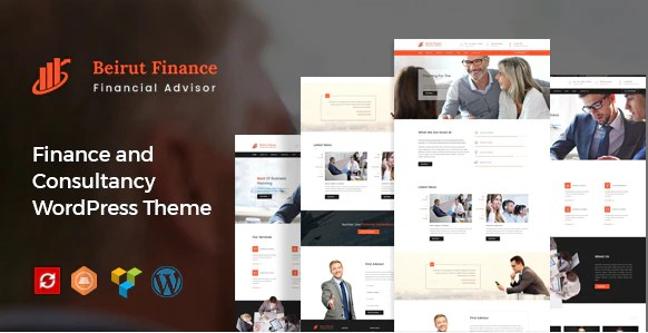 Latest Photo of  Beirut : Business, Finance and Consultancy WordPress Theme