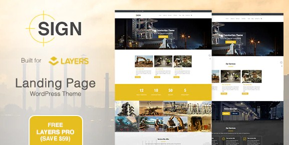 Latest Photo of  Sign Factory | Industrial | Construction Responsive Layers WordPress Theme