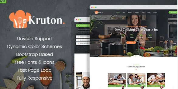 Latest Photo of  Kruton Bakery and Cooking Classes WordPress Theme