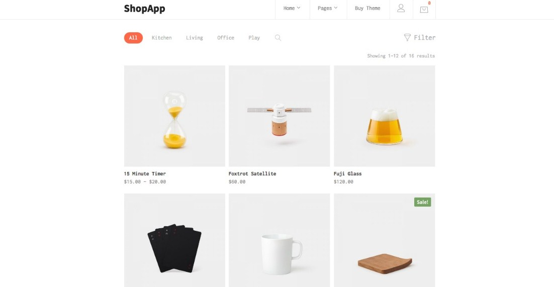 Latest Photo of  ShopApp WordPress Theme for Small Business
