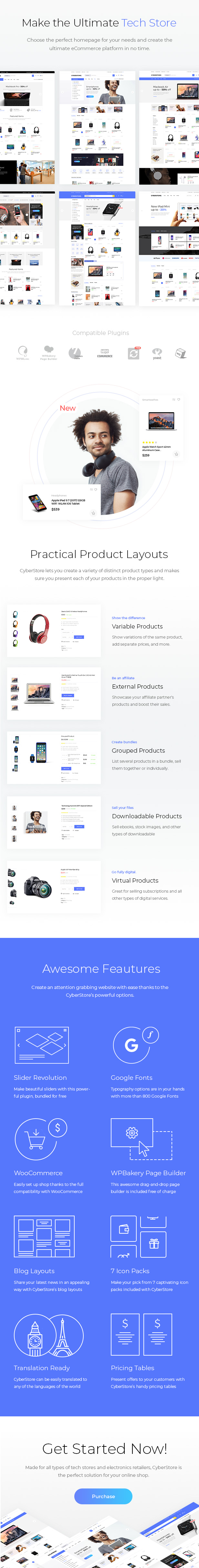 Latest Photo of  CyberStore Simple eCommerce Shop