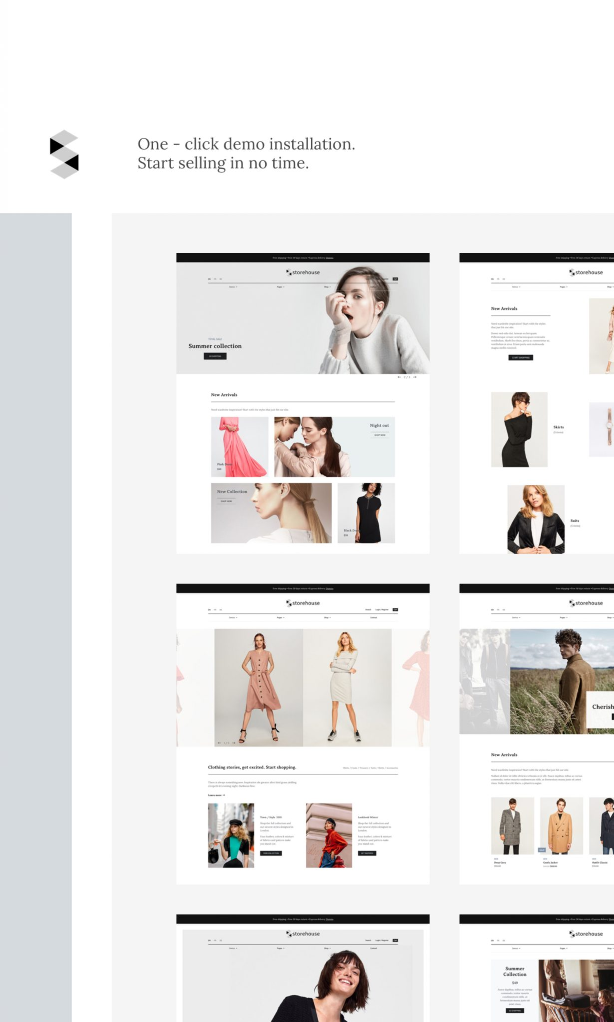 Latest Photo of  Storehouse Conversion Oriented WooCommerce Theme