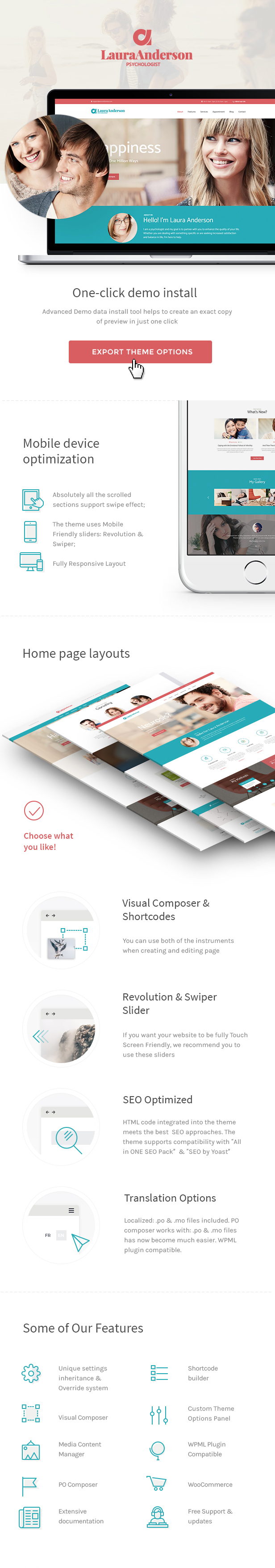 Latest Photo of  Psychologist | Therapy and Counseling Doctor WordPress Theme
