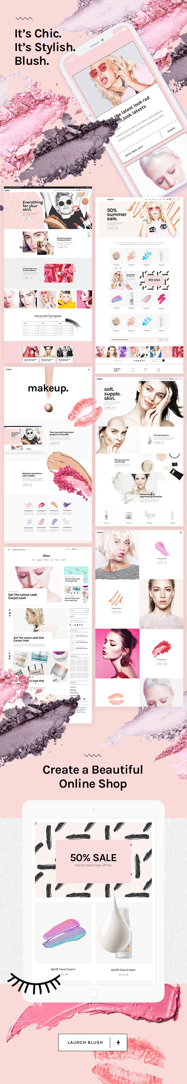 Latest Photo of  Blush A Trendy Beauty and Lifestyle Theme