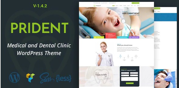 Latest Photo of  Prident Medical and Dental Clinic WordPress Theme