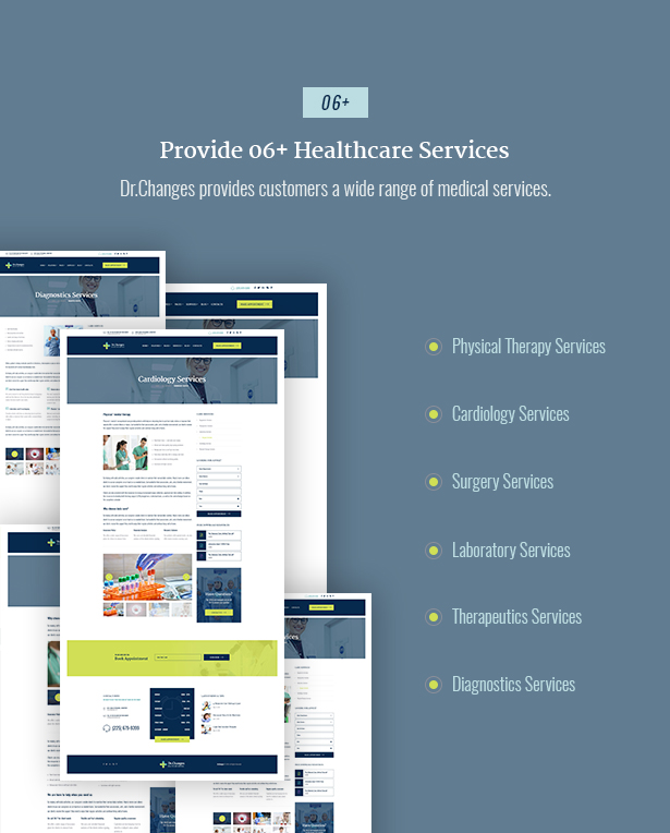 Latest Photo of  Dr.Changes Doctor & Medical Clinic WordPress Theme