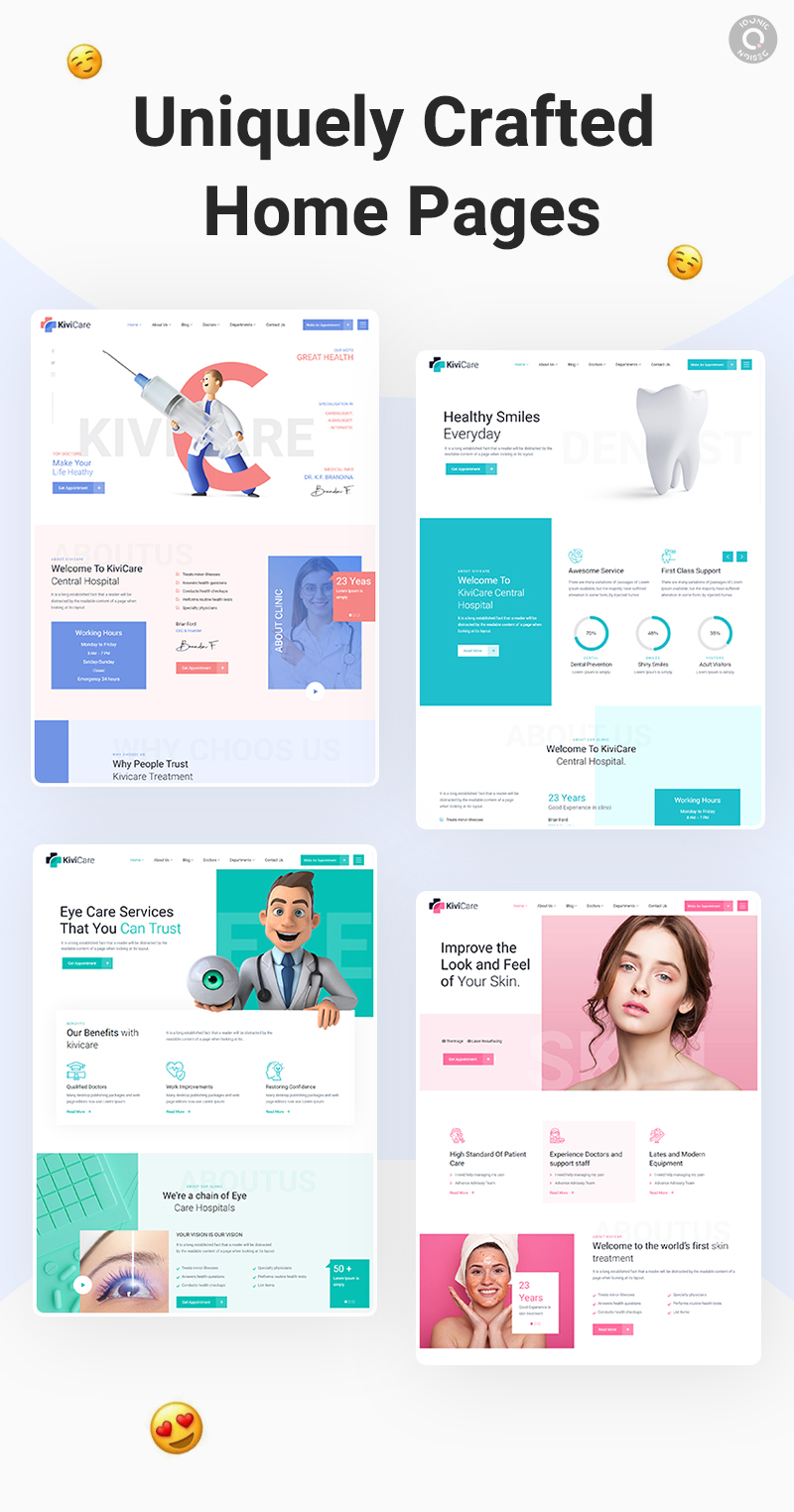 Latest Photo of  KiviCare Medical Clinic & Patient Management WordPress Theme