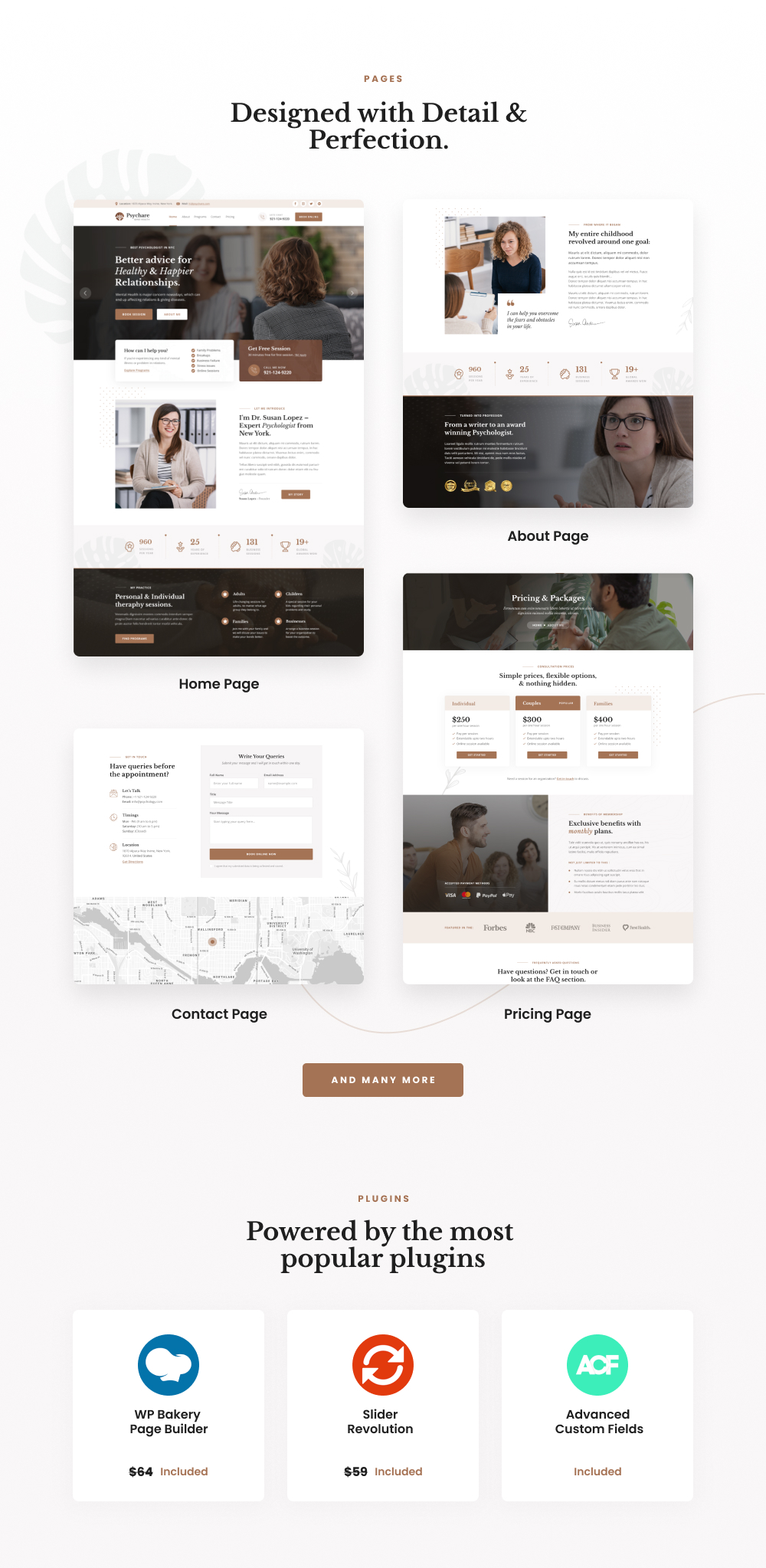 Latest Photo of  Psychare WordPress Theme for Psychologists & Life Coaches