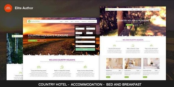 Latest Photo of  CountryHolidays WordPress Country Hotel and Bed