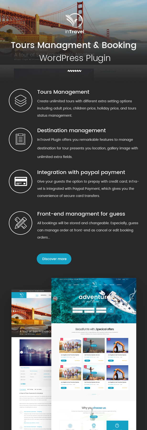 Latest Photo of  Travel | Fullly functional Tour Booking Management WordPress Theme