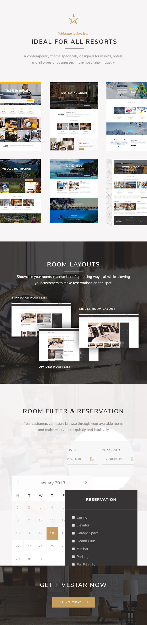 Latest Photo of  FiveStar Hotel Booking Theme