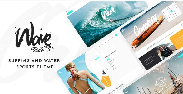 Latest Photo of  WaveRide Surfing and Water Sports Theme