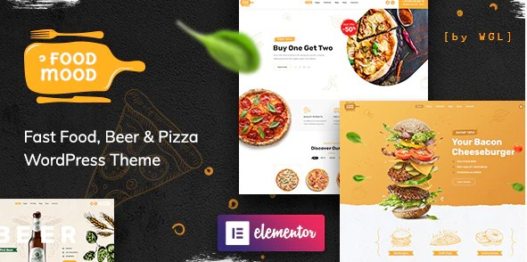 Latest Photo of  Foodmood Cafe & Delivery WordPress Theme