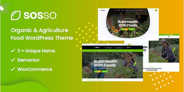 Latest Photo of  Sosso Agriculture WordPress Theme