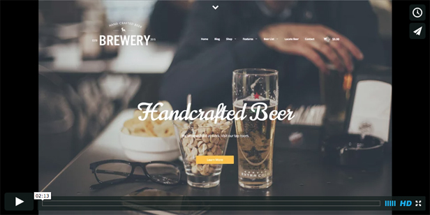 Latest Photo of  Brewery: A WordPress Theme for Beer Makers
