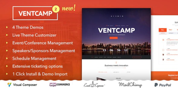 Latest Photo of  Ventcamp Event and Conference Theme
