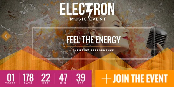 Latest Photo of  Electron Event Concert & Conference Theme