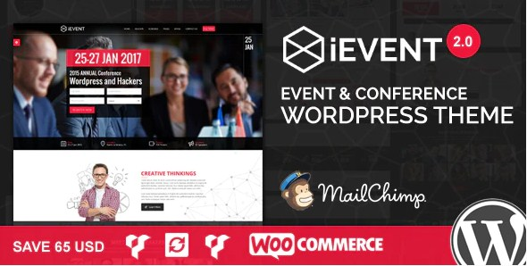 Latest Photo of  iEvent Event & Conference WordPress Theme