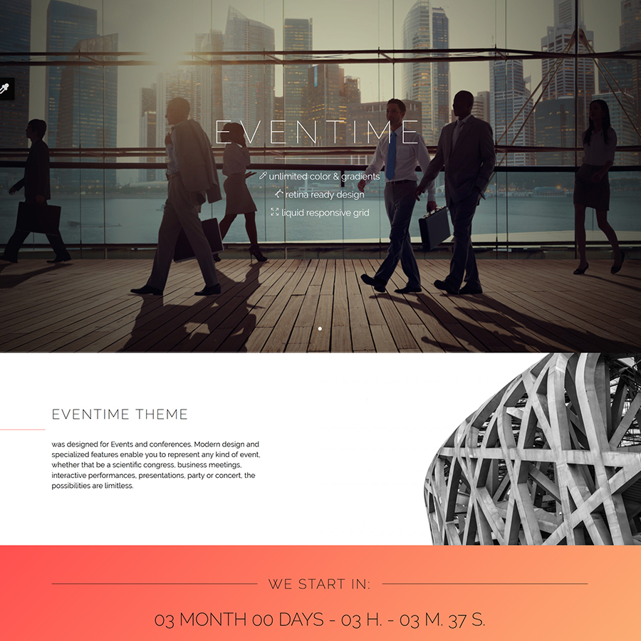 Latest Photo of  Eventime Conference, Event, Fest, Ticket Store Theme