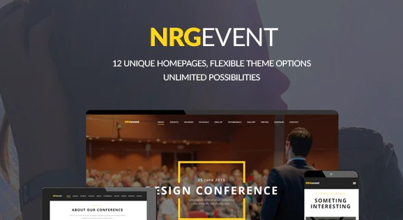 Latest Photo of  NRGevent Conference & Event WordPress Theme
