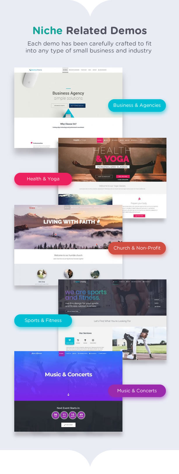 Latest Photo of  Eventastic WordPress Theme for Events & Conferences