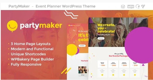 Latest Photo of  PartyMaker | Event Planner & Wedding Agency WordPress Theme