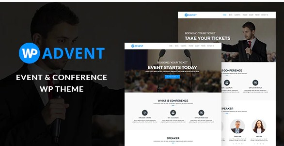 Latest Photo of  WPadvent Event and Conference WordPress Theme