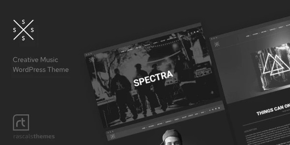 Latest Photo of  Spectra Music Theme for WordPress