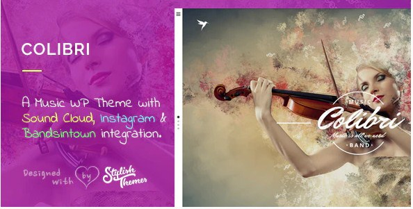 Latest Photo of  Colibri WP Theme for Busy Musicians