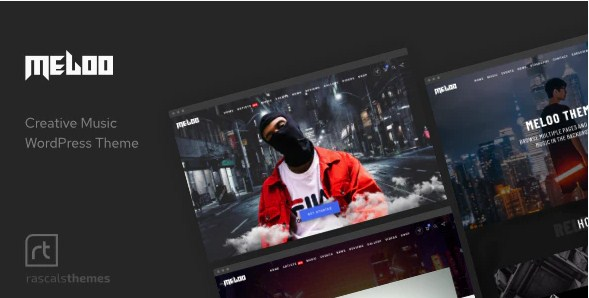 Latest Photo of  Meloo Music Theme for WordPress