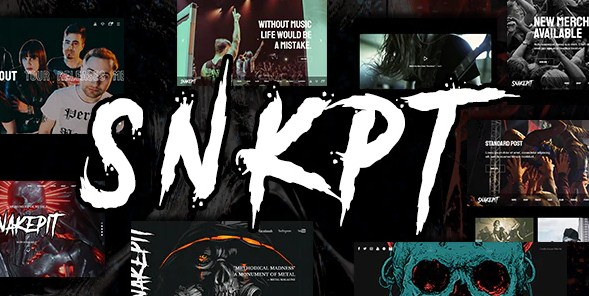 Latest Photo of  Snakepit A Rock and Metal Oriented Music WordPress Theme