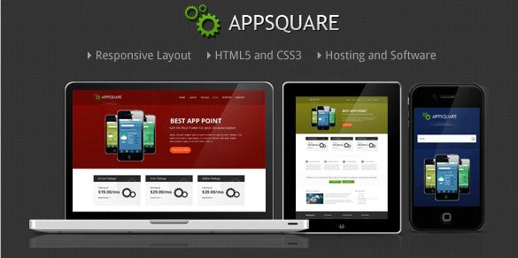 Latest Photo of  AppSquare Software and Hosting WordPress Theme