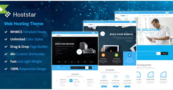 Latest Photo of  HostStar WP Theme for Hosting, SEO and Web Design Business