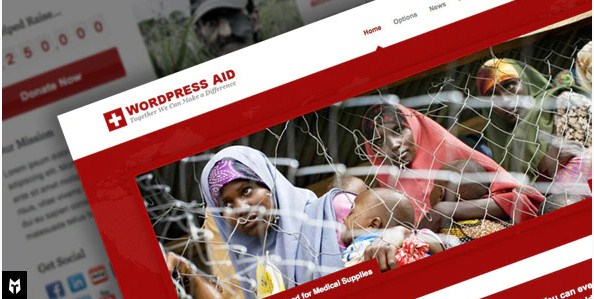Latest Photo of  Aid: Responsive Charity Blog WP Theme