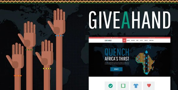 Latest Photo of  GiveAHand Charity Responsive WP Theme