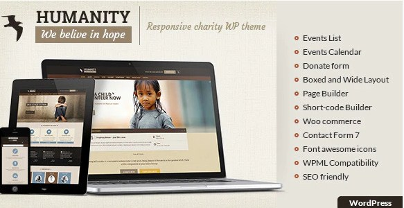 Latest Photo of  Humanity Charity Theme