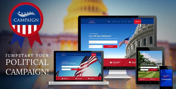 Latest Photo of  Campaign Your Political WordPress Theme