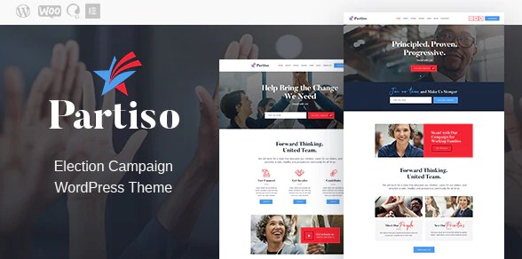 Latest Photo of  Partiso   Political WordPress Theme for Party & Candidate