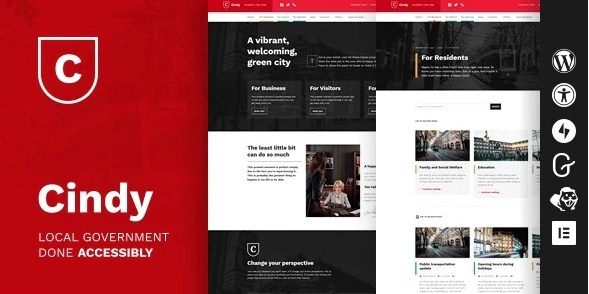 Latest Photo of  Cindy Accessible Local Government WordPress Theme