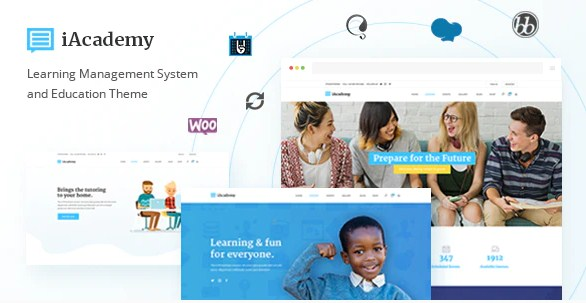 Latest Photo of  iAcademy Education Theme for Online Learning