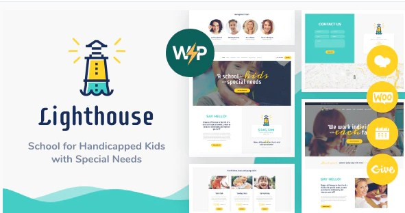 Latest Photo of  Lighthouse   School for Kids with Disabilities & Special Needs WordPress Theme