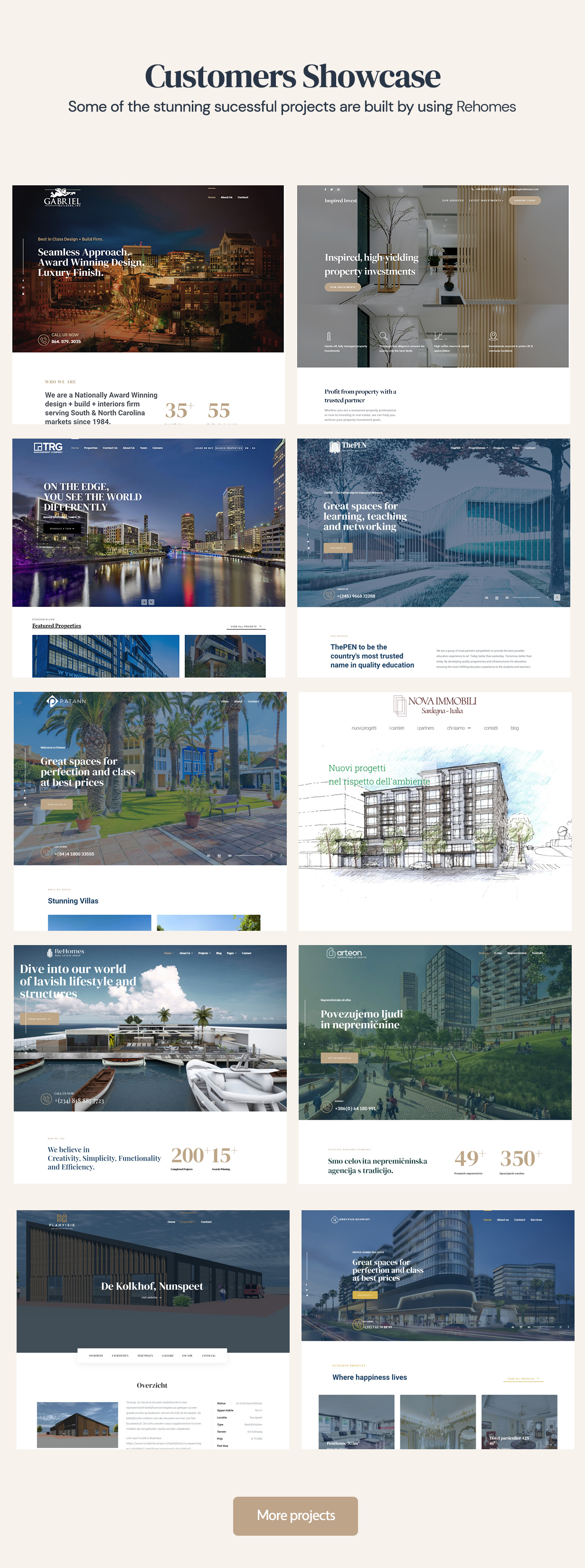 Latest Photo of  Rehomes Real Estate Group WordPress Theme