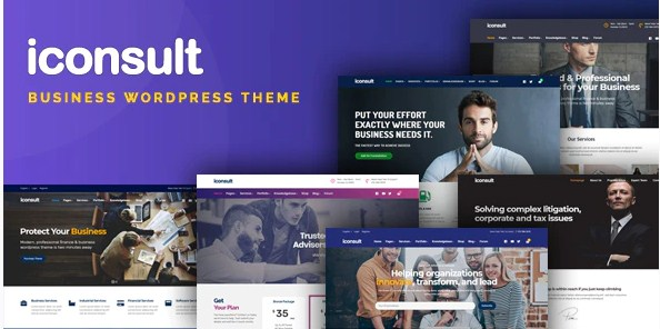 Latest Photo of  iConsult Business, Financial Consulting WordPress Theme