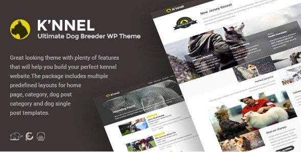 Latest Photo of  Knnel Ultimate Dog Breeder WP Theme V1.1