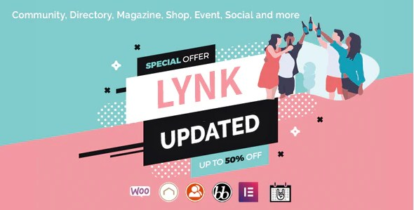 Latest Photo of  Lynk Social Networking and Community WordPress Theme